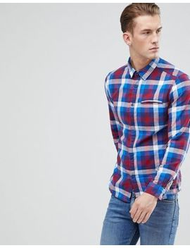 Esprit Slim Fit Checked Shirt by Esprit