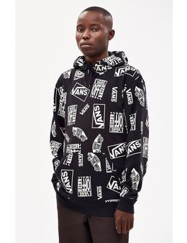 Mixed Logo Pullover Hoodie by Vans