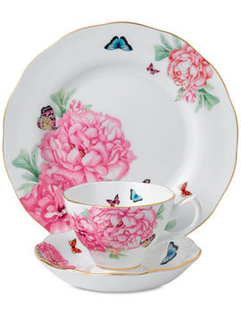 Miranda Kerr For Friendship  3 Pc. Tea Set by Royal Albert