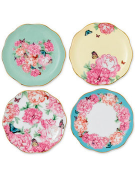 Miranda Kerr For  Tidbit Plates Set Of 4 by Royal Albert