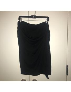 Gap Soft Spun Knit Black Wrap Skirt Size Xl by Gap