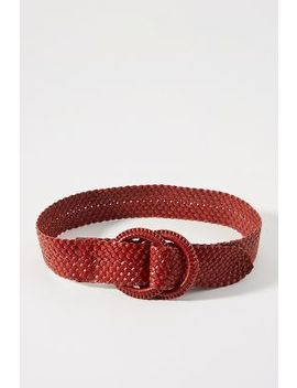 Woven Double O Ring Belt by Anthropologie