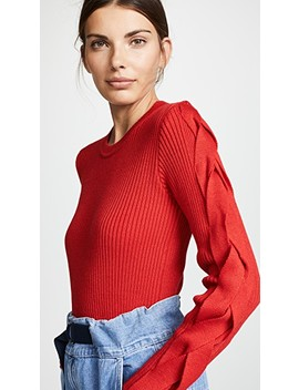Wool Mixed Sweater by Ksenia Schnaider