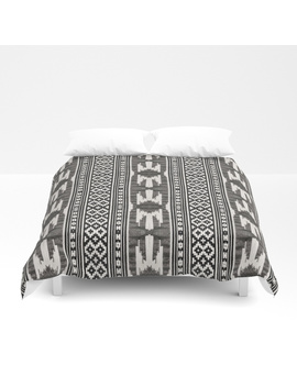 Tribal Textile Duvet Cover by