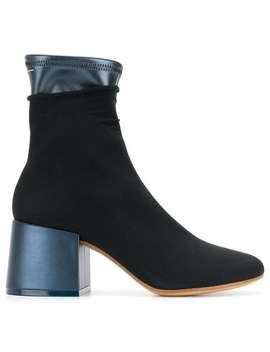 Mm6 Maison Margielalayered Design Ankle Bootshome Women Mm6 Maison Margiela Shoes Boots by Mm6 Maison Margiela