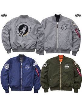 Alpha Industries Men's Jacket Ma 1 Vf Nasa Rp Jacket Slim Fit S M L Xl Xxl 3 Xl by Alpha Industries