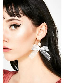 Invited Guest Bow Earrings by 3 Am Imports