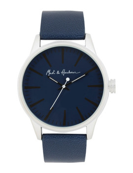 Mast & Harbour Men Navy Analogue Watch Lw6147 by Mast & Harbour