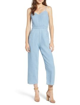 The Cut It Out Jumpsuit by Mother
