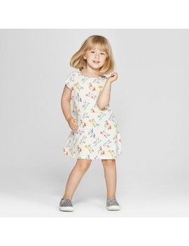 Toddler Girls' A Line Dress   Cat & Jack™ Calla Lily by Shop All Cat & Jack™