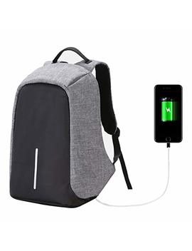 Slim Laptop Backpack, Ult Unite Multipurpose Travel Anti Theft Backpack With Usb Charging Port For College,Business,Travel by Amazon