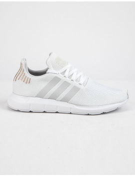 Adidas Swift Run Cloud White & Crystal White Womens Shoes by Adidas