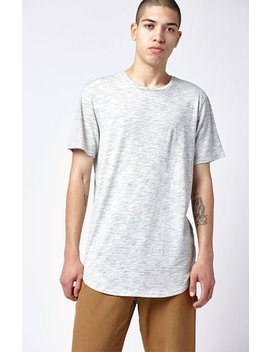 Romano Extended Length Scallop T Shirt by Pac Sun