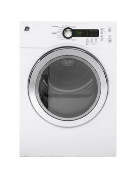 4.0 Cu. Ft. 240 Volt White Stackable Electric Vented Dryer by Ge
