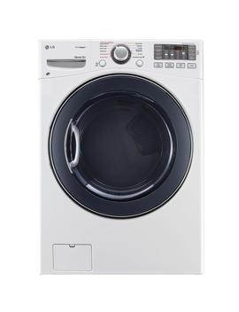 7.4 Cu. Ft. Electric Dryer With Steam In White by Lg Electronics