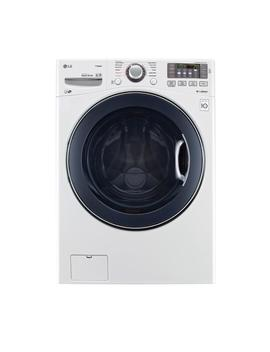 4.5 Cu. Ft. High Efficiency Front Load Washer With Steam And Turbo Wash In White, Energy Star by Lg Electronics