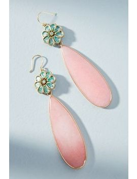 Petal Play Drop Earrings by Anthropologie