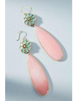 Petal Play Drop Earrings by Anthropologie
