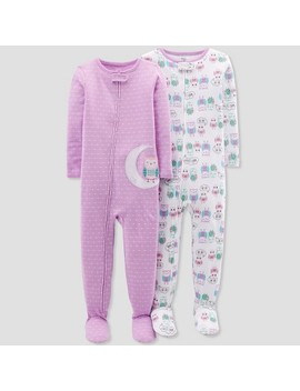 Toddler Girls' Owl Footed Sleeper   Just One You™ Made By Carter's® Purple by Shop All Just One You Made By Carter's