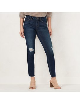 Women's Lc Lauren Conrad Feel Good Midrise Skinny Jeans by Kohl's