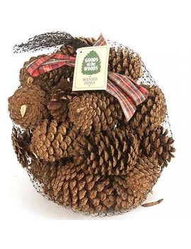 Scented Pine Cones In Bag (Pine) by Wood Eze