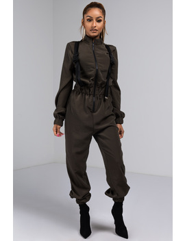 Live And Let Live Swish Jumpsuit by Akira