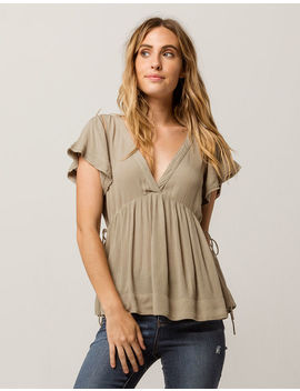 O'neill Juniper Womens Babydoll Top by O'neill