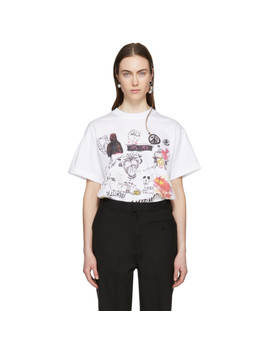 Ssense Exclusive White Graphic T Shirt by Ambush