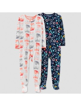 Toddler Girls' Fox Pajama Set   Just One You™ Made By Carter's® White by Shop All Just One You Made By Carter's
