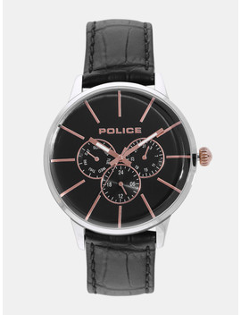 Police Men Black Multifunction Watch Pl14999 Js02 Bbd1 by Police