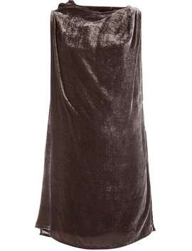 Rick Owensdraped Tophome Women Rick Owens Clothing Vests & Tank Tops by Rick Owens