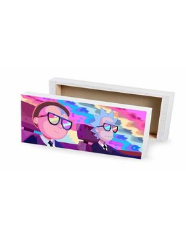 Rick And Morty Canvas Print by Etsy