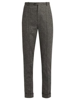 Katja Slim Fit Cropped Trousers by Isabel Marant