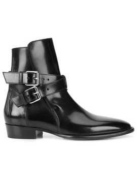 Amiripatent Buckled Bootshome Men Amiri Shoes Boots by Amiri