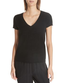 Cashmere V Neck Tee by Atm Anthony Thomas Melillo