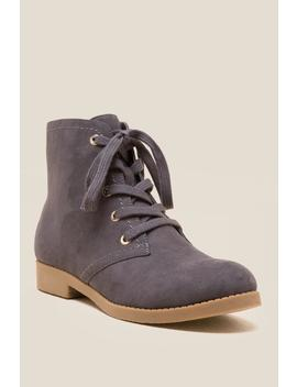 Indigo Rd Abelly Lace Up Ankle Boot by Francesca's