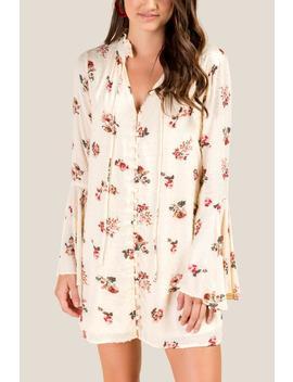 Rebecca Floral Shift Dress by Francesca's