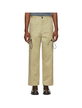 Khaki Last Days Cargo Pants by Goodfight