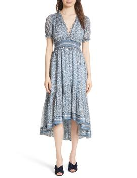 Evania Floral Silk Blend Dress by Ulla Johnson