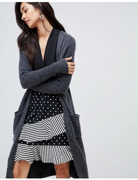 Y.A.S Long Knitted Cardigan by Y.A.S.