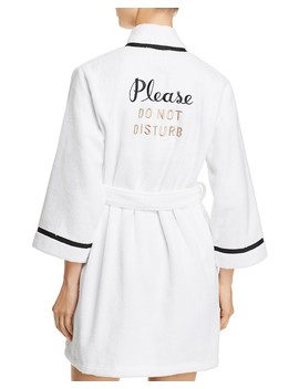 Do Not Disturb Robe by Kate Spade New York