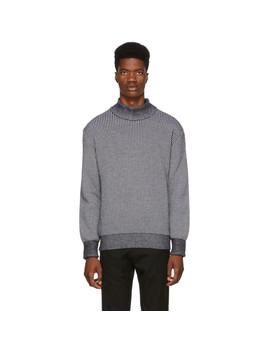 Black & White Prophet Sweater by Études