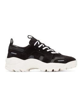Black Runner Sneakers by Ami Alexandre Mattiussi