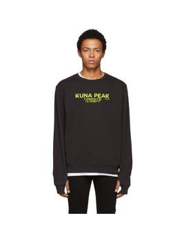 Black 'kuna Peak' Sweatshirt by Frame
