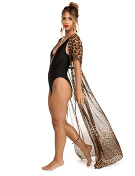 Walk On The Wild Side Leopard Duster by Windsor