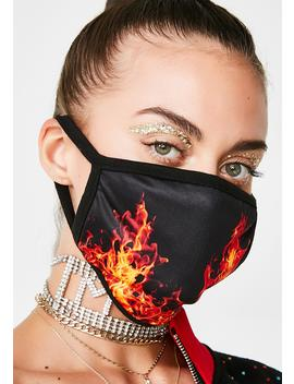 Feed The Flames Mask by Prvte Apparel