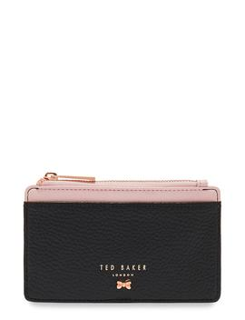 Zip Leather Card Holder by Ted Baker London