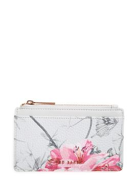 Babylon Print Leather Card Holder by Ted Baker London