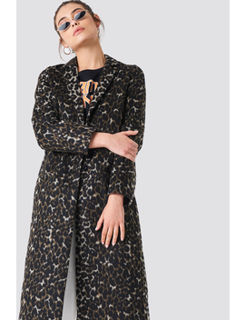 Printed Coat by Na Kd