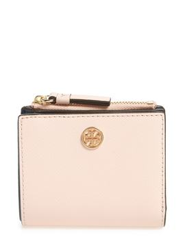 Mini Robinson Wallet Leather Bifold Wallet by Tory Burch